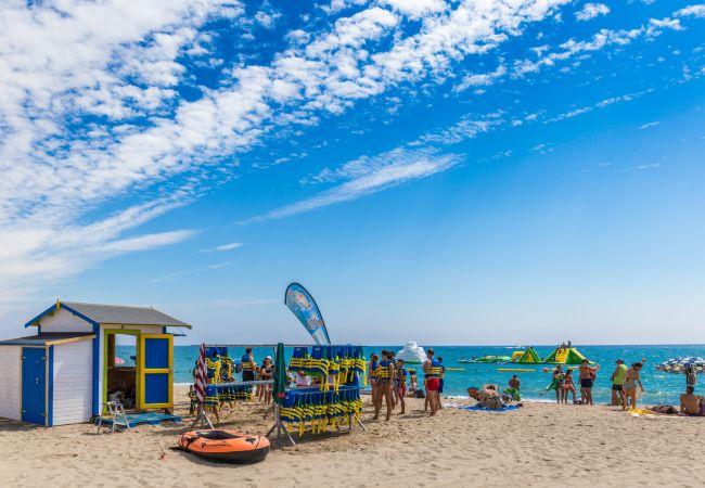Villa en Miami Playa - ISIDRO Villa piscina privada, barbacoa y a/a