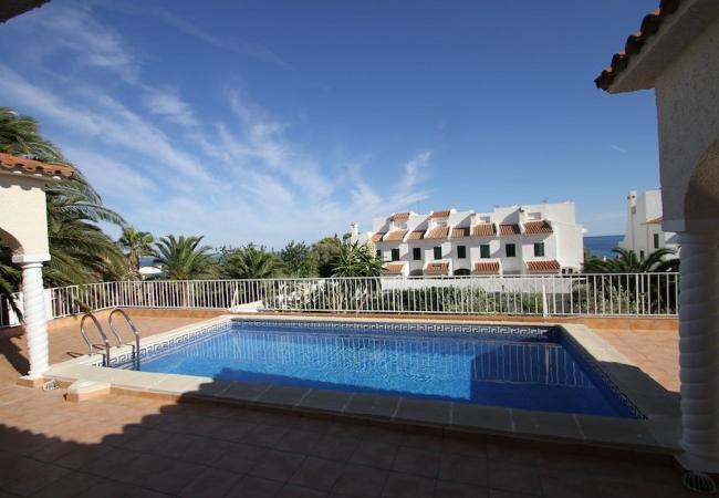 Villa en Miami Playa - B17 ROSA CRISTAL villa piscina privada grán jardín