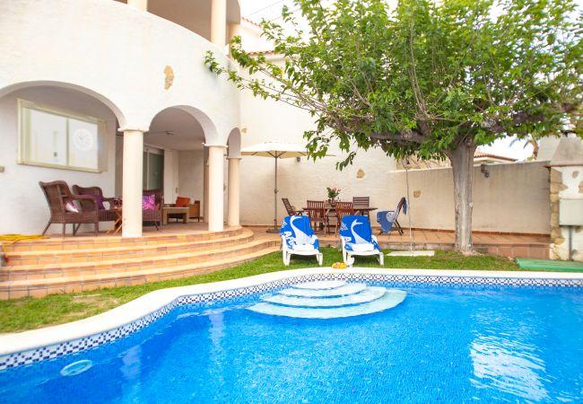 Villa en Miami Playa - POMA Villa adosada, piscina privada, Wifi gratis