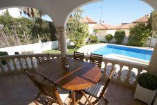 Villa en Miami Playa - BLANCA Villa jardin, piscina privada y Wifi gratis