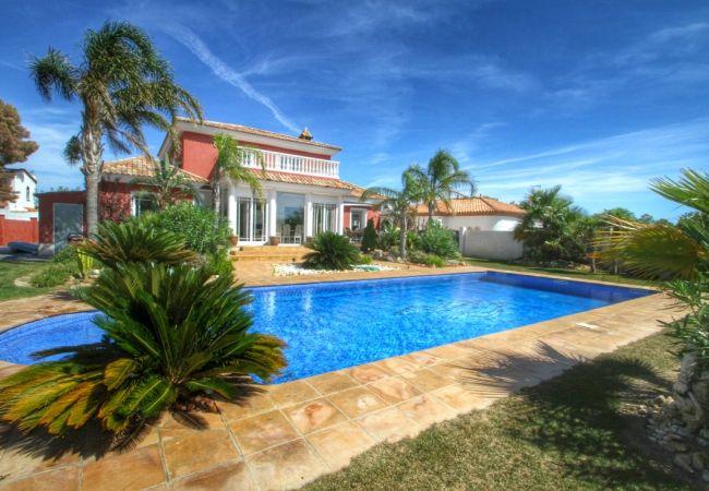 Villa en Miami Playa - B27 HARLEY grán villa con piscina privada y jardín