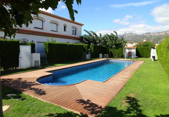 Casa en Miami Playa - C02 MAGRA7 adosado con  jardín privado y piscina