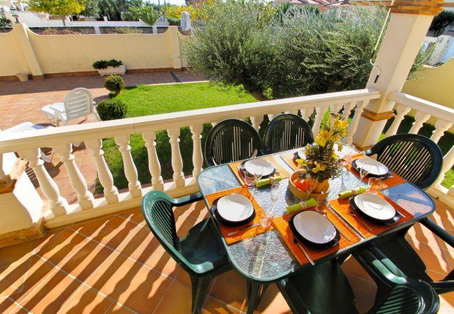 Casa adosada en Miami Playa - FORTUNY1 Adosado piscina comun jardín wifi gratis