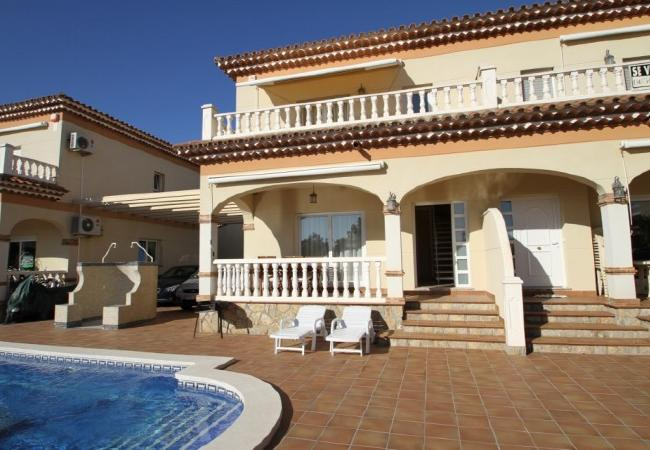 Casa en Miami Playa - FORTUNY3 adosado con piscina, jardín y wifi