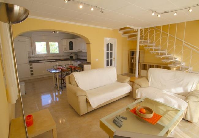 Casa en Miami Playa - C05 FORTUNY3 adosado con piscina, jardín y wifi