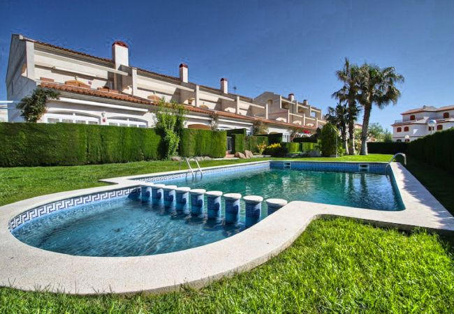 Casa en Hospitalet de L´Infant - C20 TOLU adosado, frente al mar, jardín privado