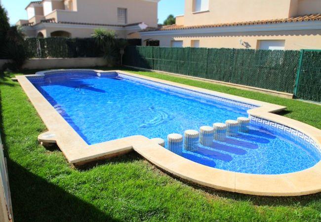 Casa en Miami Playa - C19 SAN FELIPE adosado jardín privado piscina wifi
