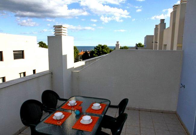 Apartamento en Miami Playa - DUPLEX OCEANO Terraza, BBQ, Wifi gratis, piscina