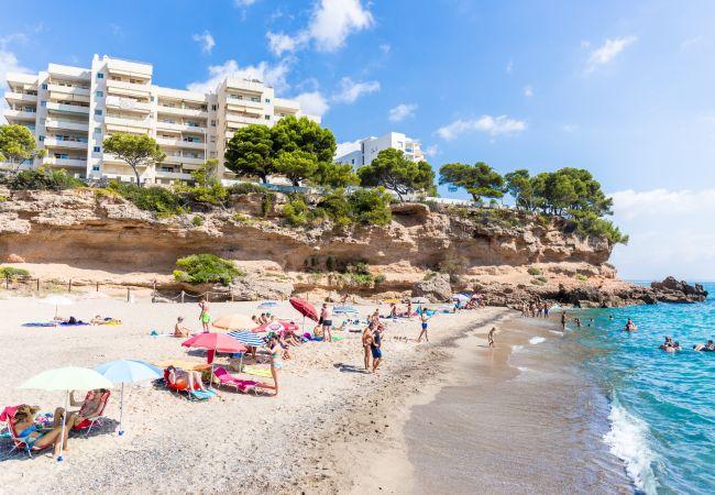 Apartamento en Miami Playa - FLAM115 Bajo 1ª línea, piscina, Wifi gratis