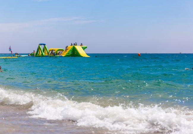 Apartamento en Miami Playa - FLAM114 Planta baja 1ª linea, piscina, Wifi gratis