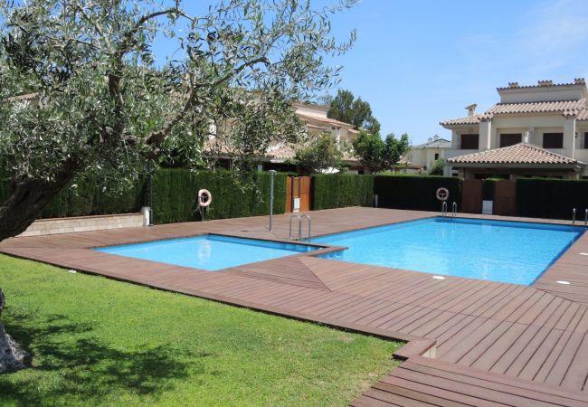 Casa en Miami Playa - ESTADA2 adosado 4 dormitorios, jardín, piscina