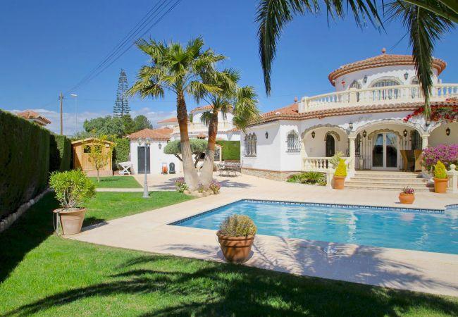 Villa en Miami Playa - B42 LIDIA villa con piscina privada y grán jardín