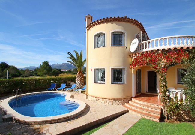 Villa en Miami Playa - B45 COSTA villa, piscina privada jardín barbacoa