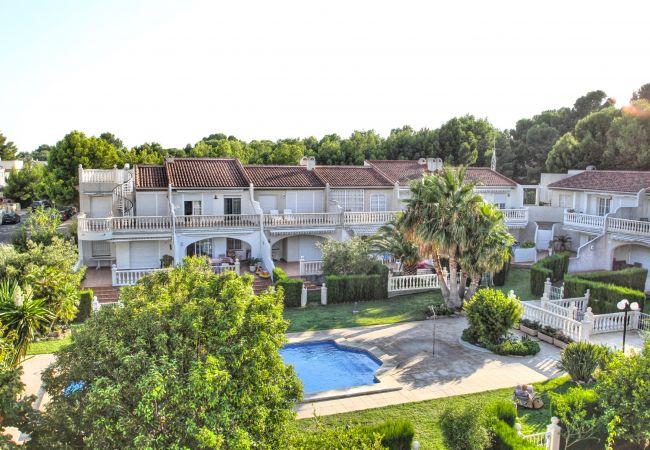 Casa en Miami Playa - CRISTAL4 adosado jardín privado, piscina