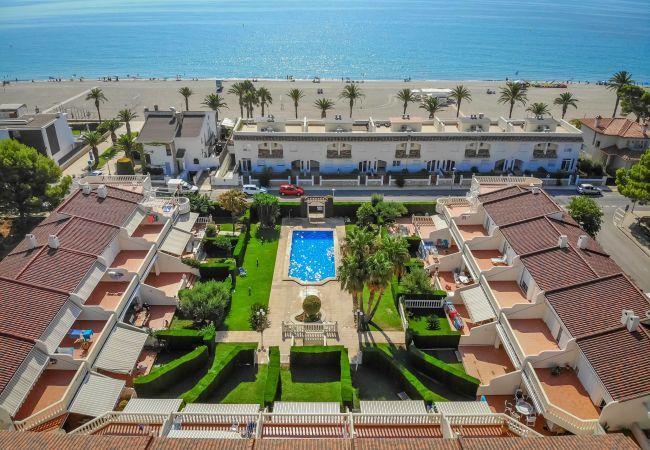Casa adosada en Miami Playa - CRISTAL4 adosado jardín privado, piscina