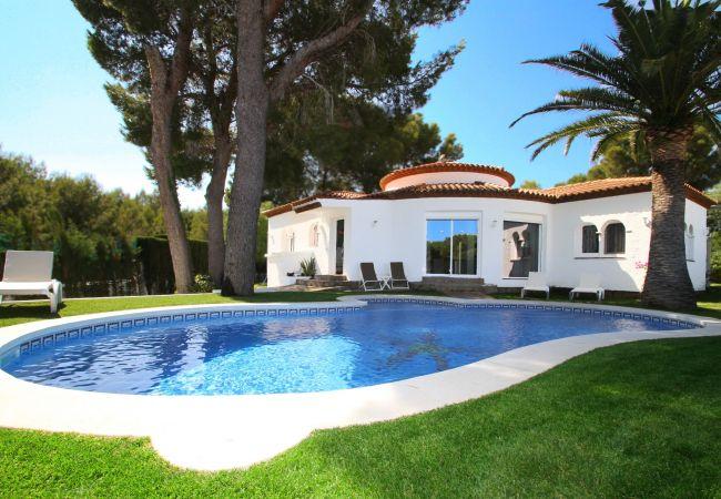 Villa en Miami Playa - B08 CAMILA gran villa piscina privada jardín WiFi