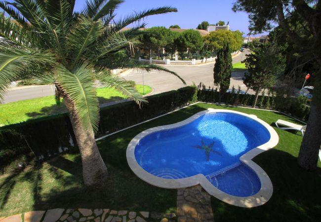 Villa en Miami Playa - CAMILA Villa piscina privada, jardín y Wifi gratis