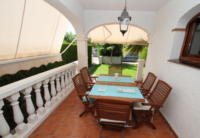 Casa adosada en Miami Playa - MAGRA2 Adosado jardín privado, BBQ y piscina comun