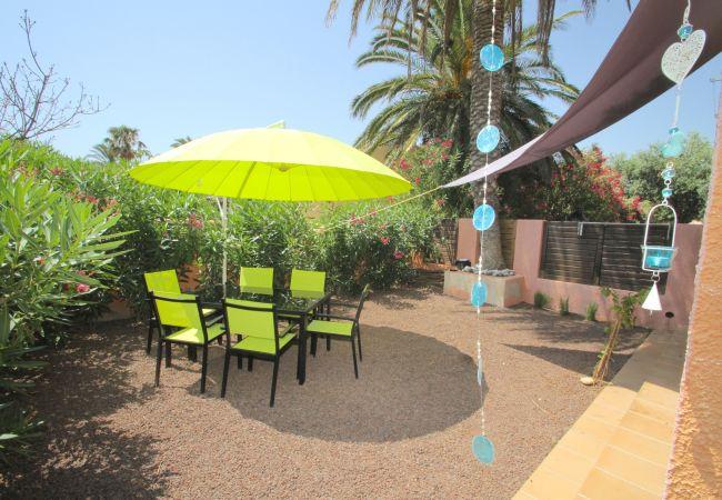 Casa adosada en Miami Playa - TERRACOTA adosado con jardín privado y piscina com
