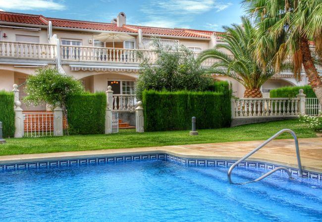 Casa en Miami Playa - CRISTAL18 adosado en playa Cristal 4dormitorio