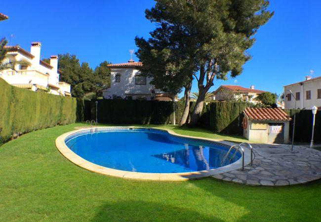 Casa en Miami Playa - C54 RIOJA3 adosado con jardín, barbacoa y piscina