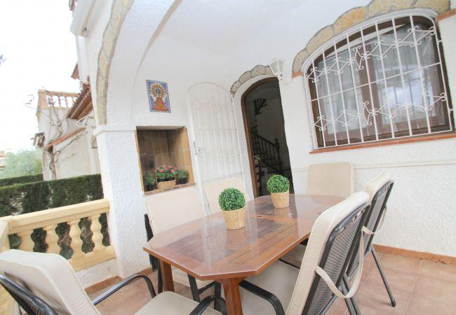 Casa adosada en Miami Playa - RIOJA3 adosado con jardín, BBQ y piscina comun