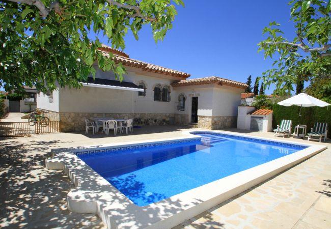 Villa en Miami Playa - B24 ANGELES villa con piscina privada y jardín