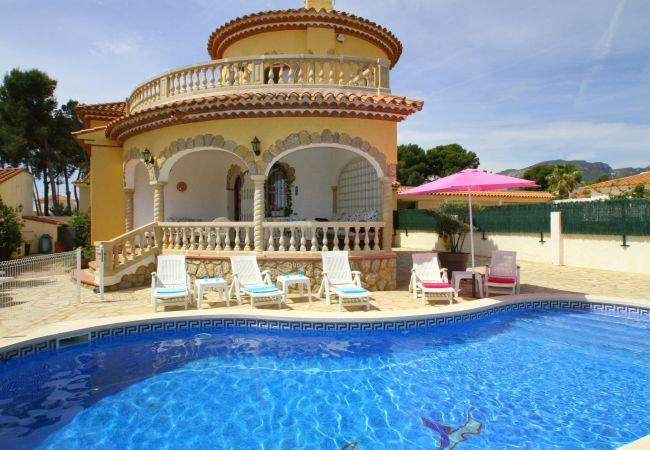 Villa en Miami Playa - B33 MARTINA villa con piscina privada y jardín
