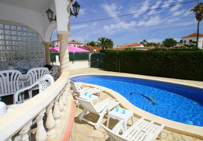 Villa en Miami Playa - MARTINA Villa piscina privada, jardín, Wifi gratis