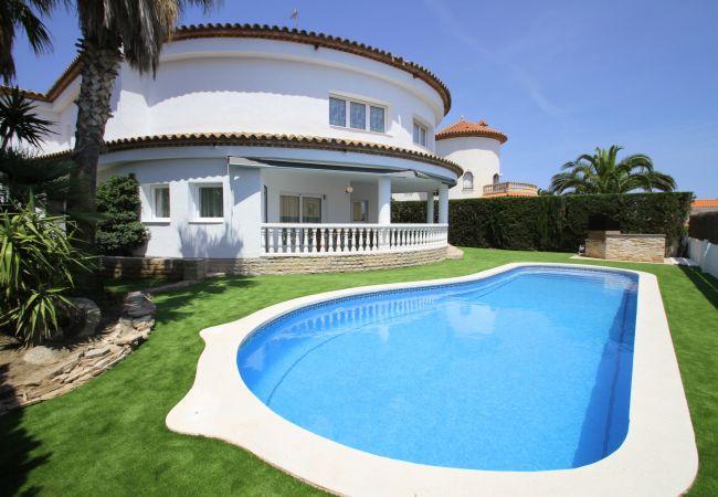 Villa en Miami Playa - B32 ALAMO gran villa piscina privada jardín WiFi