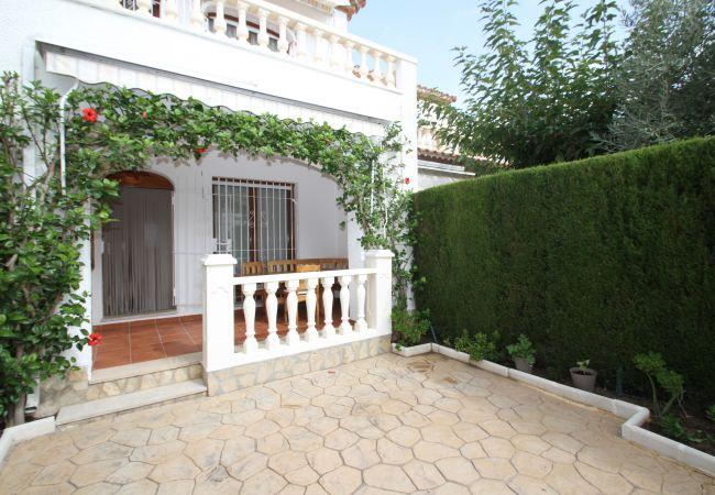 Casa en Miami Playa - BOSQUE21 adosado con jardín barbacoa y piscina