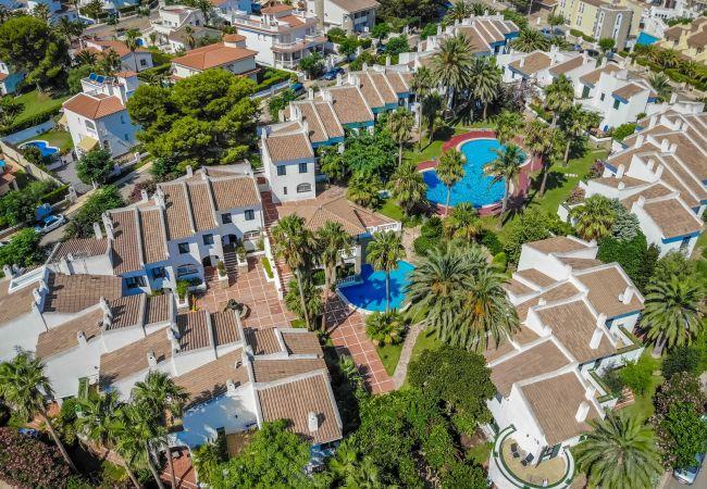 Casa en Miami Playa - MARTIN28 adosado junto a playa especial niños