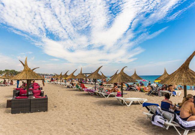 Apartamento en Miami Playa - BAHIA4 1ª línea de playa, BBQ, Wifi gratis