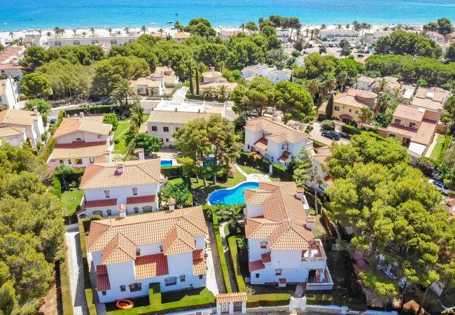 Casa en Miami Playa - RIOJA adosado con jardín, BBQ y piscina comun