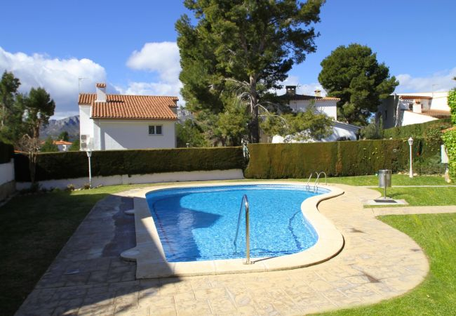 Casa en Miami Playa - CALA BEACH2 Adosado jardín, piscina, Wifi gratis