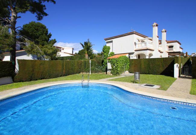 Casa en Miami Playa - CALA BEACH1 Adosado jardín y piscina