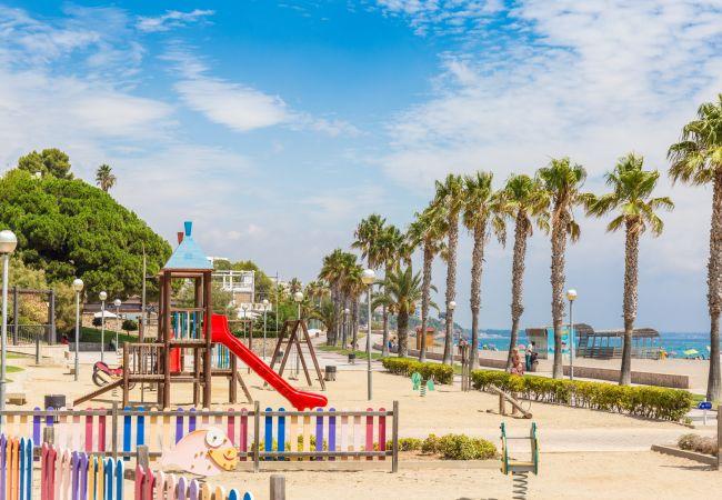Casa en Miami Playa - CALA BEACH1 Adosado jardín, piscina, Wifi gratis