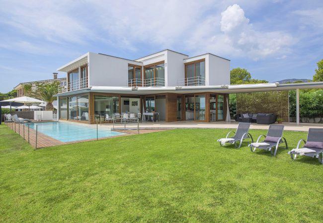 Villa en Miami Playa - DANNA Villa Lux 1ª línea, piscina y Wifi gratis