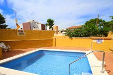 Apartamento en Miami Playa - LETICIA adosado con jardín y piscina comun