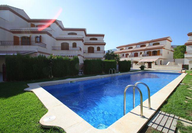 Casa en Hospitalet de L´Infant - ARENAL2 adosado 1ª línea del mar, piscina comun