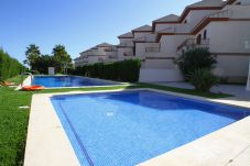 Casa adosada en Hospitalet de L´Infant - ARENAL2 adosado 1ª línea del mar, piscina comun