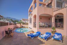 Villa en Hospitalet de L´Infant - ROSA Villa con piscina privada al lado de la playa