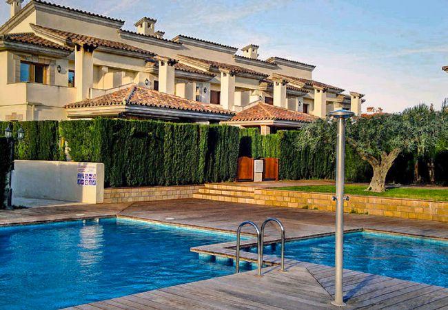 House in Miami Playa - ESTADA Adosado con jardín, piscina comun y BBQ