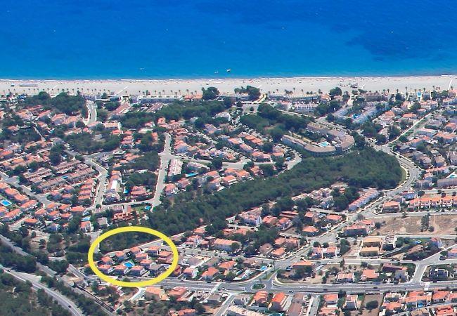 House in Miami Playa - MASIA2 adosado jardín privado, BBQ y piscina