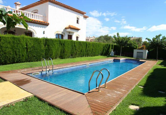 House in Miami Playa - MAGRA2 Adosado jardín privado, BBQ y piscina