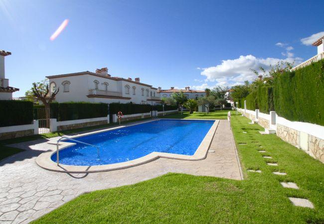 House in Miami Playa - C26 BOSQUE21 adosado con jardín barbacoa y piscina