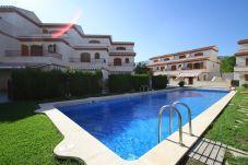 Townhouse in Hospitalet de L´Infant - ARENAL2 adosado 1ª línea del mar, piscina comun