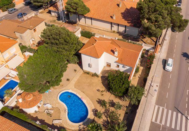 Villa à Miami Playa - FORTUNA villa, piscina privada y grán jardín