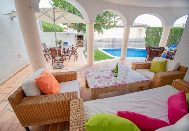 Villa à Miami Playa - POMA Villa adosada, piscina privada, Wifi gratis