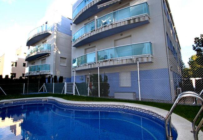 Appartement à Miami Playa - DUPLEX OCEANO Terraza, BBQ, Wifi y piscina